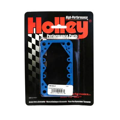 Carburetor Spacers, Studs & Gaskets - Carburetor Gaskets - Holley - Holley 108-92-2 Carburetor Reusable Blue Non Stick Fuel Bowl Gaskets 4165/7175