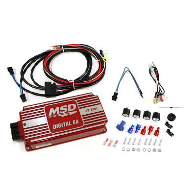 MSD - MSD 6201 High Output 6A Digital Ignition Box Control System CDI 12 Volt Neg.