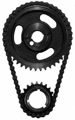 Valvetrain & Camshaft Components - Timing Chain Sets - SA Gear - Dynagear - SA GEAR 73004-3 3 Piece Timing Chain Set Small Block Ford V8 255 302 351 Windsor