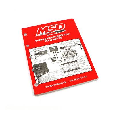 Ignition & Electrical - Wiring Harnesses, Relay Kits, Etc. - MSD - MSD Ignitions 9615 Wiring Diagrams and Tech Notes Manual Book Chevy Ford