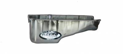 Kevko - KEVKO 2001NRH SBC SMALL BLOCK CHEVY CHEATER 350 OIL PAN 1 PIECE REAR MAIN