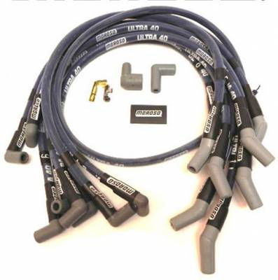 Moroso - Moroso 73630 Ultra 40 Sleeved Spark Plug Wires SBF Ford 289 302 5.0L 351W HEI