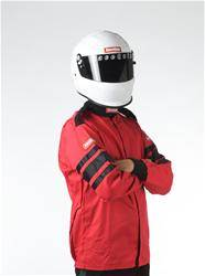 Racequip - 3XLarge Red Single Layer Race Driving Fire Safety Suit Jacket SFI 3.2A/1 Rated