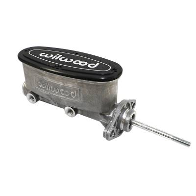 "Brakes - Master Cylinders - Wilwood - Wilwood 260-9439 High Volume Natural Aluminum Tandem Master Cylinder 7/8"" Bore"