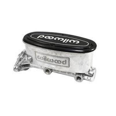 "Brakes - Master Cylinders - Wilwood - Wilwood 260-8555-P High Volume Polished Aluminum Tandem Master Cylinder 1"" Bore"