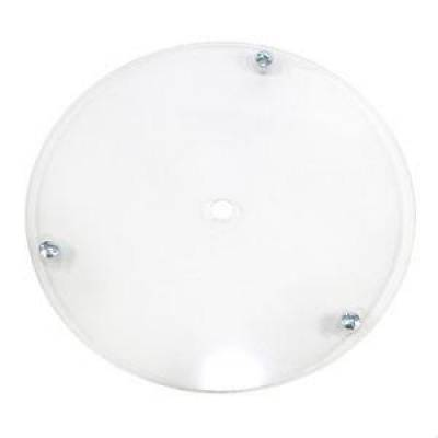 "Circle Track - Wheel Covers & Rings - Bassett Wheel - Bassett Racing 3RFC Right Front Replacement 15"" Wheel Cover Clear Plastic"
