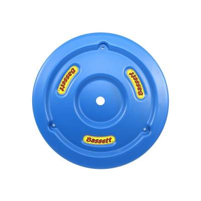 Circle Track - Wheel Covers & Rings - Bassett Wheel - Bassett 5PLG-BLU Blue Plastic Wheel Cover (Mud Plug) IMCA USRA UMP