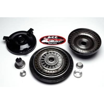 "Transmission & Drivetrain - ACC Performance - ACC 21192 12"" 1600-2200 Stall Ford FMX Torque Converter 29 Spline Mustang Falcon"