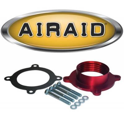 Air Filters & Cold Air Intakes - Air Cleaner Assemblies & Accessories - Airaid - AIRAID 310-618 PowerAid Throttle Body Spacer 07-12 Dodge Ram  Dakota & Nitro  07