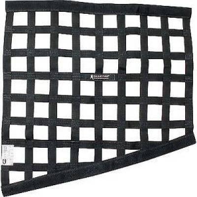 Safety & Seats - Seat Belts, Safety Harnesses, Window Nets & Components - AllStar Performance - Allstar 10289 Window Net Border Style Drag Black SFI