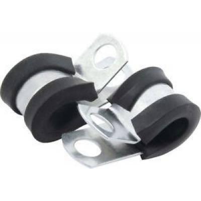 Fittings & Hoses - Hose Clamps & Separators - AllStar Performance - Allstar 18300 Aluminum Line Clamps 3/16in 10pk