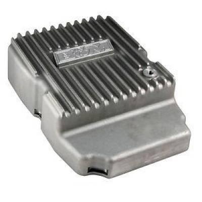 Transmission & Drivetrain - Transmission Oil Pan & Components - B & M - B&M 10300 Finned Cast Aluminum NAG-1 Deep Transmission Pan Charger Jeep +3 Quart