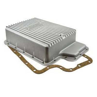 Transmission & Drivetrain - Transmission Oil Pan & Components - B & M - B&M 40295 Cast Aluminum Ford E40D 4R100 5R100 TorqShift Deep Transmission Pan