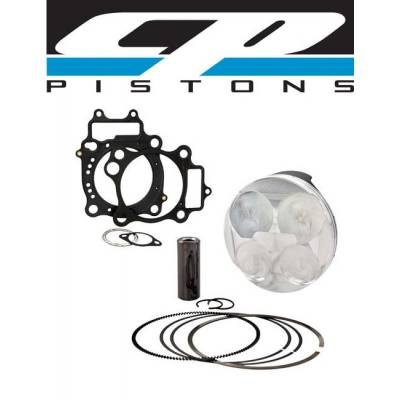 Pistons & Rings - Pistons - Carillo Industries - CP Forged Piston & Gasket Kit Suzuki KingQuad 700/750 11.5:1 CR +2mm STD Qty 1