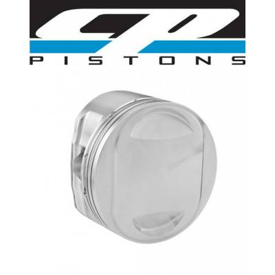 """Pistons & Rings - Pistons - Carillo Industries - CP Carrillo Forged Piston Set Harley-Davidson Twin Cam 95ci 9.75:1 +.030"""" Qty 2"""