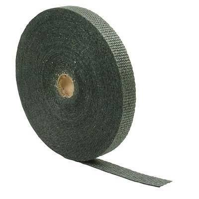 Design Engineering - DEI 010118 1in x 100ft Roll of Black Fiberglass Exhaust and Header Wrap Hi Temp