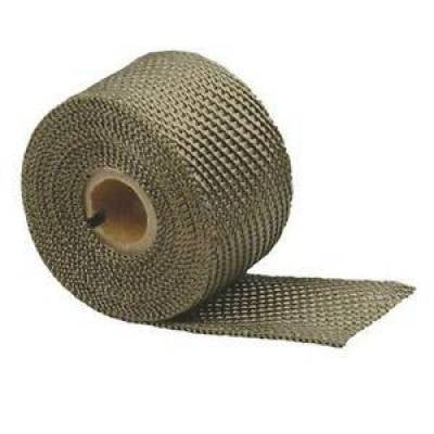 Design Engineering - DEI 010131 2in x 25ft Roll Titanium Fiberglass Exhaust Header Wrap