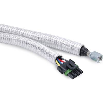 "Design Engineering - DEI 010415 Cool-Tube Thermal Hose & Wire Wrap 1/2"" x 15'' Wiring Protection'"