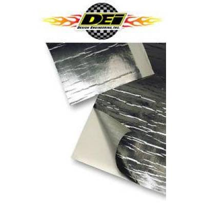 "Headers & Exhaust  - DEI Exhaust Wrap & Coating - Design Engineering - DEI 010462 Reflect-A-Cool Thermal Barrier 24"" x 24"" Sheet Fiberglass & Foil"