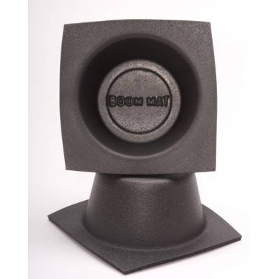 "Design Engineering - DEI 050331 Boom Mat Auto Car Audio System Stereo Speaker Baffle 6.5"" Round Slim"