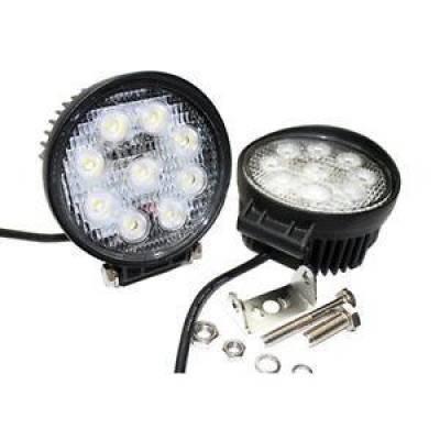 Delta Tech Industries - Delta Tech 01-2927-50L LED High Output Round Flood Back Up Tailgate Light Kit
