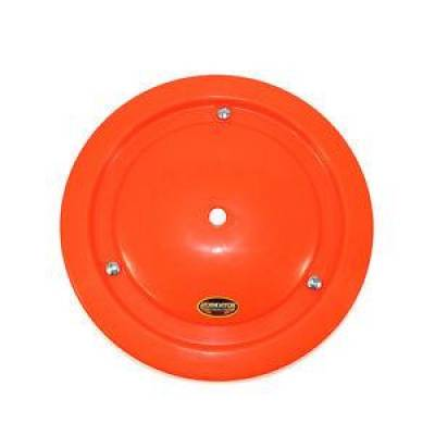 "Circle Track - Wheel Covers & Rings - Dominator Race Products - Dominator Race Products Fluorescent Orange Ultimate 15"" Wheel Cover Aero Bassett"
