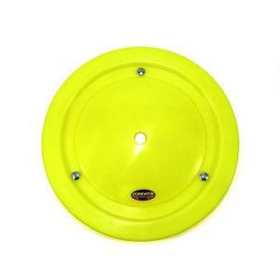 "Circle Track - Wheel Covers & Rings - Dominator Race Products - Dominator Race Products Fluorescent Yellow Ultimate 15"" Wheel Cover Aero Bassett"