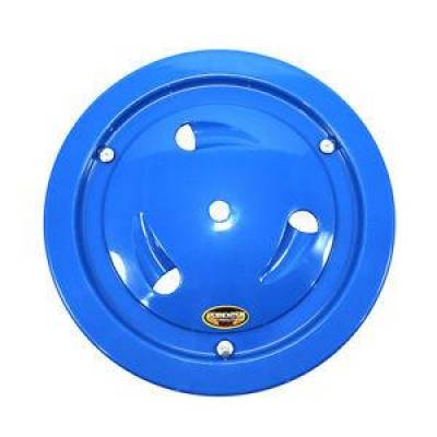 "Circle Track - Wheel Covers & Rings - Dominator Race Products - Dominator Race Products Blue Vented Ultimate 15"" Wheel Cover Aero Bassett Real"