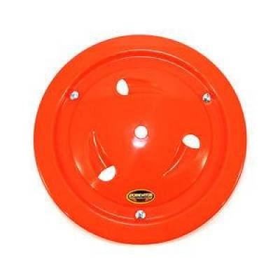 "Circle Track - Wheel Covers & Rings - Dominator Race Products - Dominator Race Products Fluorescent Orange Vented Ultimate 15"" Wheel Cover Aero"