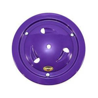 "Circle Track - Wheel Covers & Rings - Dominator Race Products - Dominator Race Products Purple Vented Ultimate 15"" Wheel Cover Aero Bassett Real"