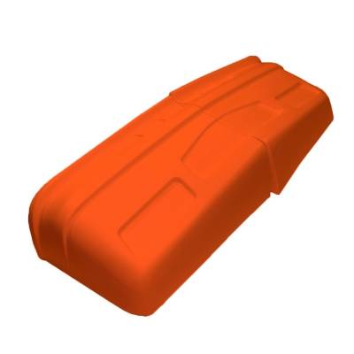Dominator Race Products - Dominator Race Products Fluorescent Orange SS Street Stock Car Nose Hobby Stock - Image 4
