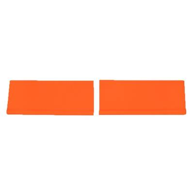 Dominator Race Products - Dominator Race Products Fluorescent Orange SS Street Stock Car Nose Hobby Stock - Image 5