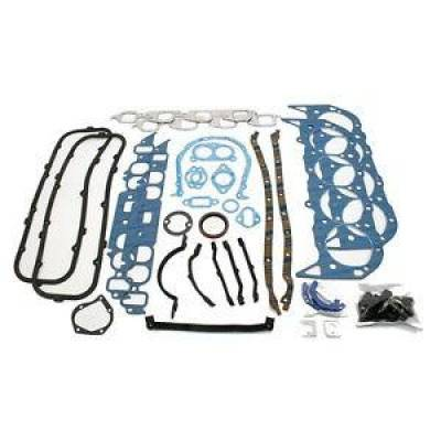 Engine Components & Valvetrain - Engine Gaskets - Fel-Pro Gaskets - Fel Pro 260-1046 454 7.4L Big Block Chevy Overhaul Gasket Kit 80-85 Mark IV BBC