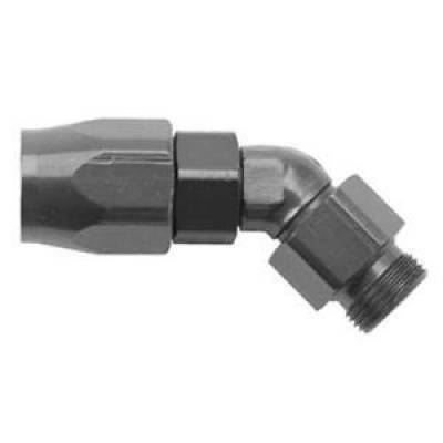 Fittings & Hoses - Fragola - Fragola 184507-BL 6 AN x 9/16-18 45 Degree Series 3000 Direct Fit Hose End