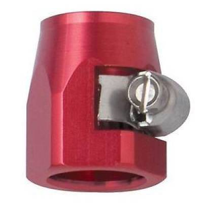 Fittings & Hoses - Fragola - Fragola 280004 -4 AN Stainless Steel Hose EZ Clamp Hose Ends Red IMCA USRA NHRA