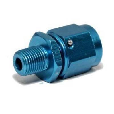 Fragola - Fragola 499366 -6 AN Swivel Female 3/8 MPT Male Pipe Thread Adapter IMCA NHRA
