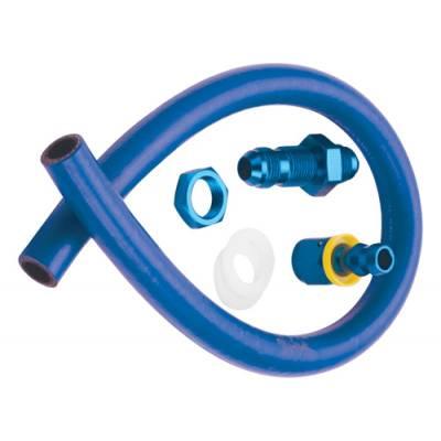 Fragola - Fragola 900701 8 AN Fuel Hose and Fitting Cell Pick Up Kit IMCA USRA NHRA