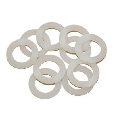 "Fragola - Fragola 999126 -6 AN White Nylon Sealing Washers 9/16"" I.D. 10 Pack IMCA NHRA"