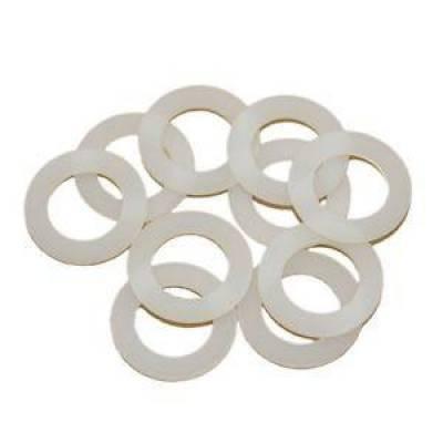 "Fragola - Fragola 999130 -10 AN White Nylon Sealing Washers 7/8"" I.D. 10 Pack IMCA NHRA"
