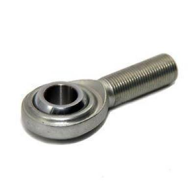 "Circle Track & Racing - FK Bearings Inc - FK Bearings Steel 2 Piece Rod End Male 3/8"" Shank Right Hand Thread Heavy Duty"