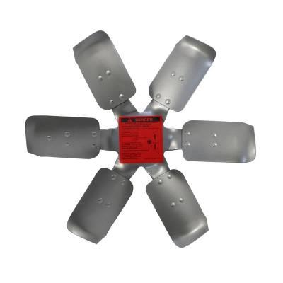 """Flex-A-Lite - Flexalite 1117 Heavy Duty Steel Universal 17"""" Race Fan Steel Blades Clockwise"""
