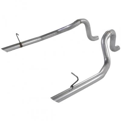 """Exhaust Systems - Cat Back Exhaust - Flowmaster - Flowmaster 15804 1987-1993 Mustang LX 5.0L/86 GT 2.5"""" Mandrel-Bent OEM Tailpipes"""