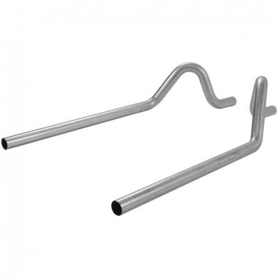 """Exhaust Systems - Cat Back Exhaust - Flowmaster - Flowmaster 15816 1955-1957 Chevy Sedan 2.5"""" Pre-Bent Tailpipes Bel Air 210 150"""