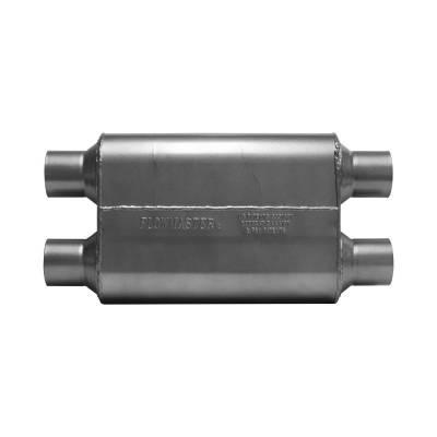 """Headers & Exhaust  - Mufflers - Flowmaster - Flowmaster 425404 Original 40 Series Muffler 2.5"""" Dual Inlet/2.5"""" Dual Outlet"""