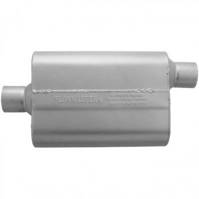 """Headers & Exhaust  - Mufflers - Flowmaster - Flowmaster 42542 Original 40 Series Muffler 2.5"""" Center Inlet/Offset Outlet"""