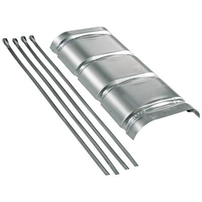 Headers & Exhaust  - Mufflers - Flowmaster - Flowmaster 51022 Aluminum Heat Shield Kit For 70 Series Mufflers