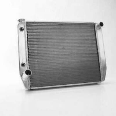 "Griffin Thermal Products - Griffin 1-26222-T Universal Fit Radiator 26"" x 19"" 2-Row Ford w/Trans Cooler"
