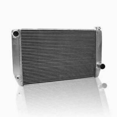 "Griffin Thermal Products - Griffin 1-55181-X Universal Fit Radiator 22"" x 15.5"" 2-Row Crossflow GM Style"