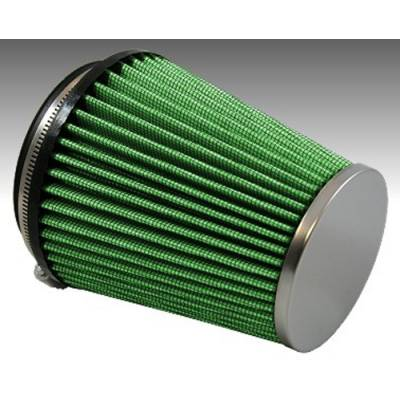 "Green Filter USA - Green Filter USA 2114 High Flow Clamp-On Cone Cold Air Filter 4"" ID 6"" L"