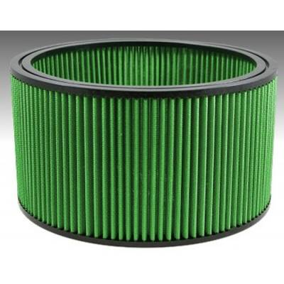 "Green Filter USA - Green Filter USA 2350 High Flow Universal Round Air Filter 11""x6"" Reusable"